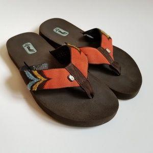 Teva Flip Flops Boho Southwestern